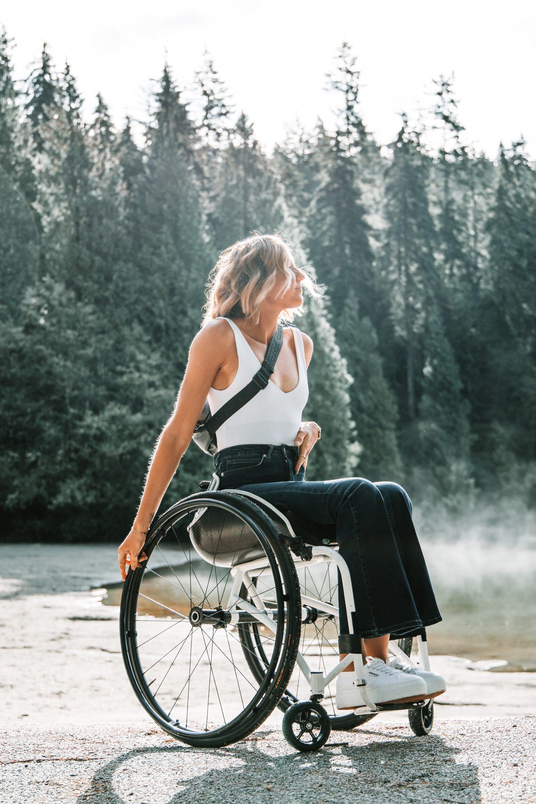 sportive paraplégique